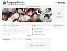 Tablet Preview of languagepartners.net
